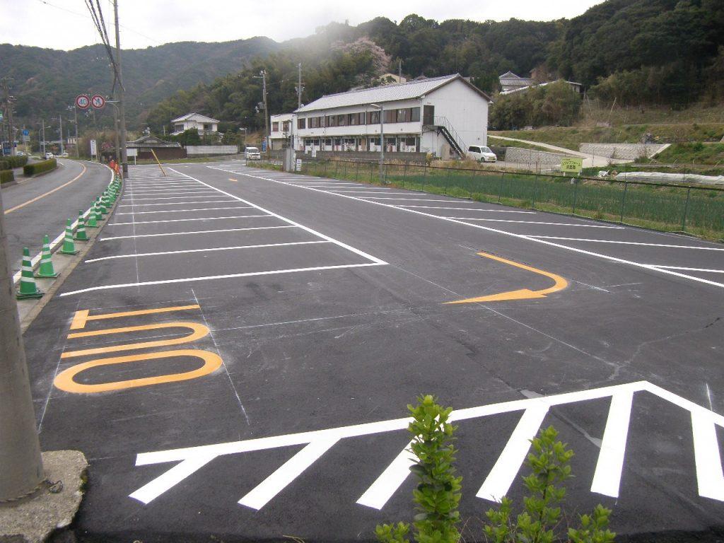 エクシブ淡路島駐車場